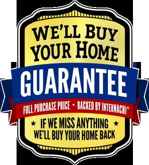 "InterNACHI ""I'll Buy Your Home"" Buyback Guarantee logo"