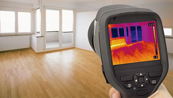 Thermal imaging home inspection services from Alwin Home Inspection