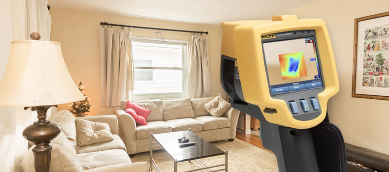 Get a thermal (infrared) home inspection from Alwin Home Inspection